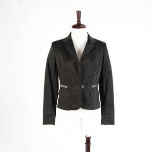 ANN TAYLOR LOFT – Black Fitted Blazer – Size 6